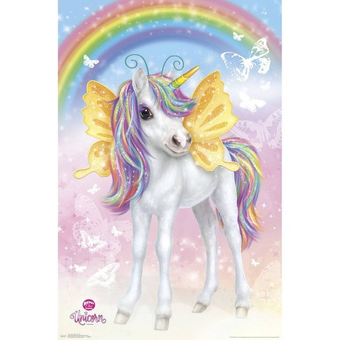 "34""x23"" Animal Club Unicorn Unframed Wall Poster Print - Trends International - image 1 of 2"