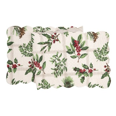 "C&F Home Colonial Williamsburg 14"" x 51"" Winter Botanical Table Runner"