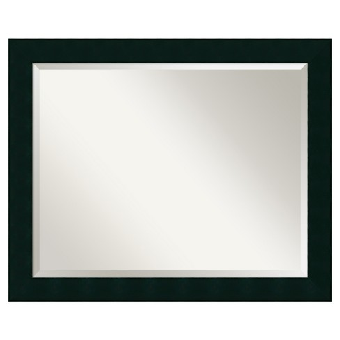 "Wall Mirror Large (32"" x 26"") Tribeca Black - image 1 of 8"
