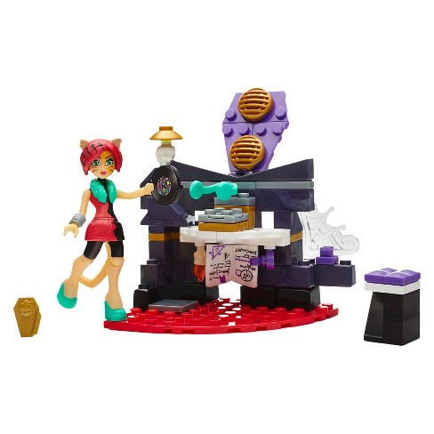 Mega Construx Monster High Study Howl DJ Building Set - image 1 of 8