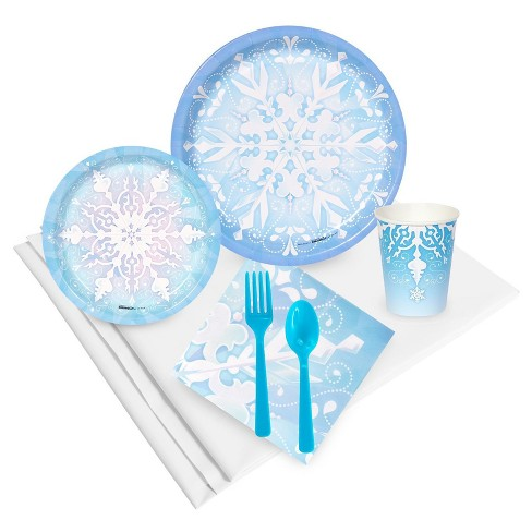 Winter Wonderland 24 Guest Blue Party Pack - image 1 of 1