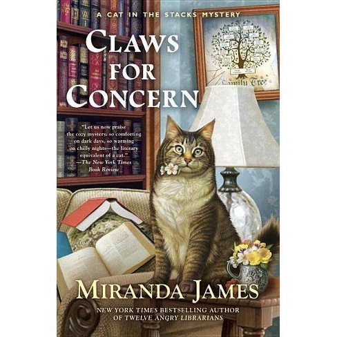 Claws for Concern - (Cat in the Stacks Mystery) by  Miranda James (Hardcover) - image 1 of 1