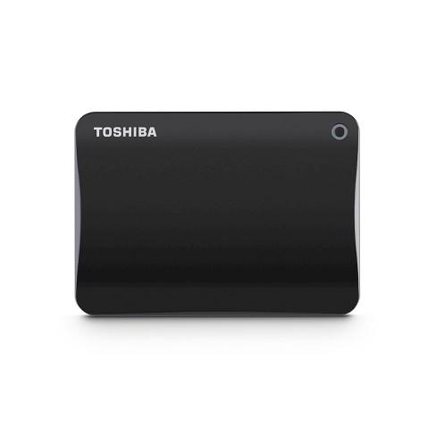 Toshiba® Canvio Connect II 1TB Portable Hard Drive - Black (HDTC810XK3A1) - image 1 of 2