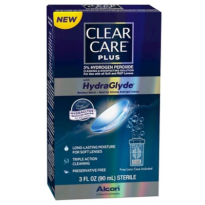 Alcon Clear Care Plus with HydraGlyde