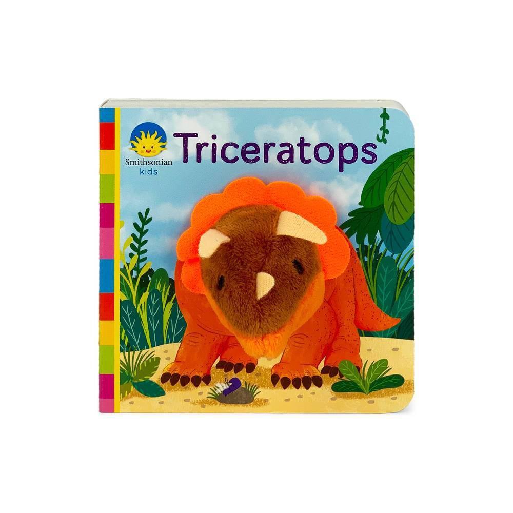 Triceratops Smithsonian Kids Finger Puppet Board Book By Jaye Garnett Board Book