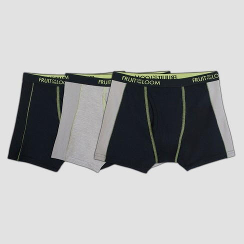Fruit Of The Loom Boys  3pk Breathable Boxer Briefs   Target f22c22152c6a