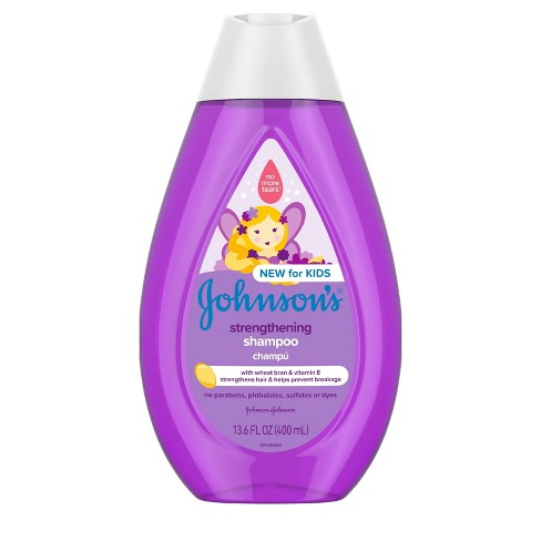 Johnson's Kids Strengthening Shampoo - 13.6 fl oz - image 1 of 4