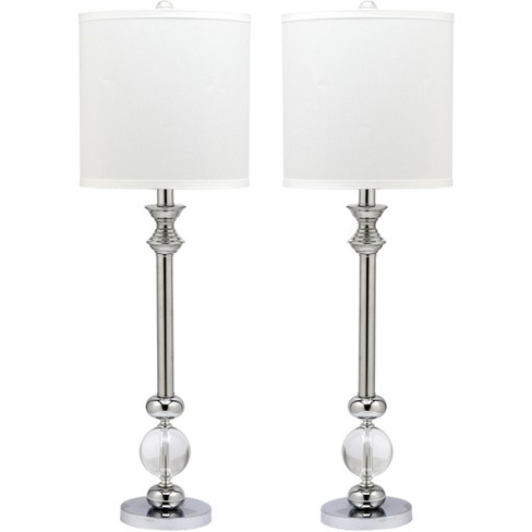 Pozzallo Table Lamp (Set Of 2) (Includes Energy Efficient Light Bulb) - Safavieh - image 1 of 4