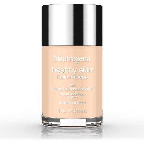Neutrogena Healthy Skin Liquid Makeup Broad Spectrum SPF 20 Light Shades -1oz - image 1 of 4