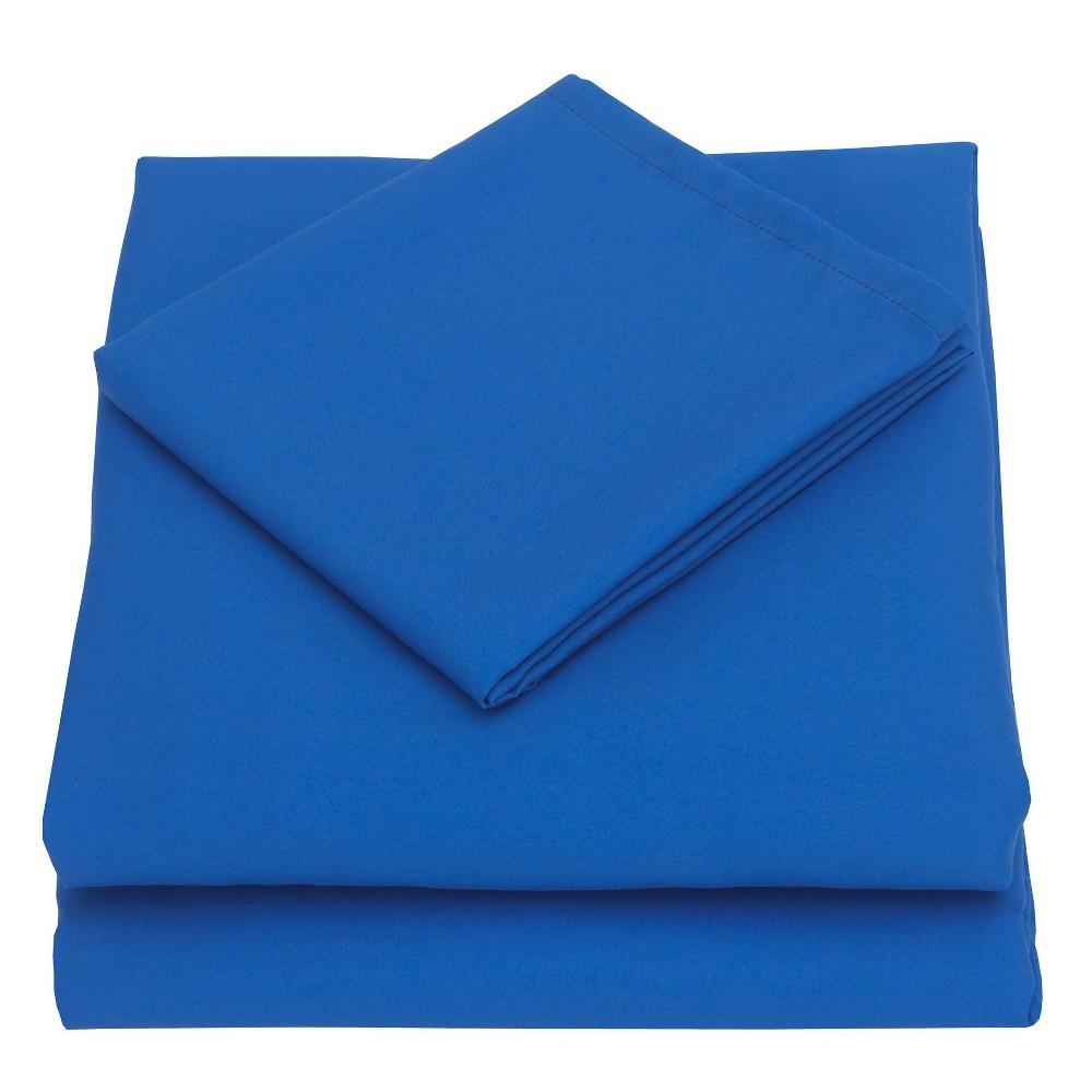 Image of Nojo 3pc Toddler Sheet Set Blue