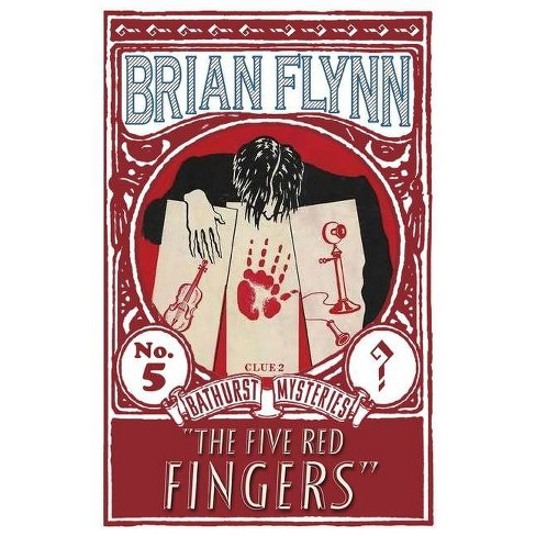 The Five Red Fingers - by  Brian Flynn (Paperback) - image 1 of 1