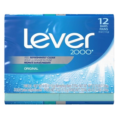 Lever 2000 Original Scent Bar Soap - 12pk - 4oz each