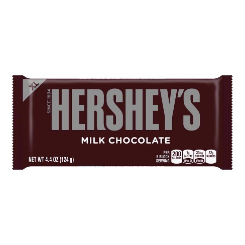Hershey's Milk Chocolate Bar XL - 4.4oz - image 1 of 4