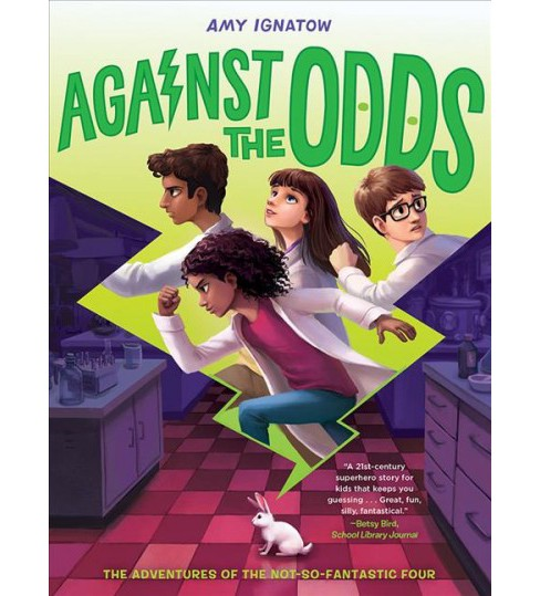 Against the Odds -  (Odds) by Amy Ignatow (Hardcover) - image 1 of 1