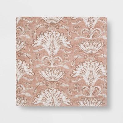 Floral Flat Woven Bath Towel Blush - Threshold™