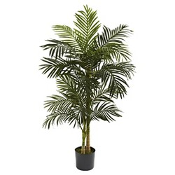 Nearly Natural 5' Golden Cane Palm Tree