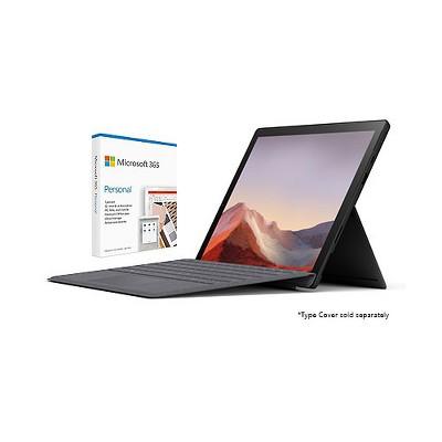 "Microsoft Surface Pro 7 VALUE BUNDLE 12.3"" Intel Core i5 8GB RAM 256GB SSD Matte Black + Microsoft 365 Personal 1 Year Subscription For 1 User"