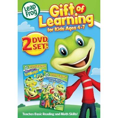 Leapfrog: Gift of Learning for Kids Ages 4-7 (DVD)(2015)