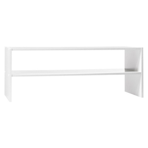 "31"" Stackable Shelf - White - Room Essentials™ - image 1 of 2"