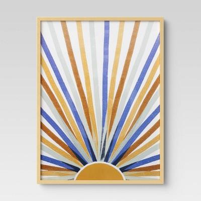 Thin Poster Frame Brass - Room Essentials™