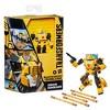 Transformers Buzzworthy Bumblebee War for Cybertron Deluxe Origin Bumblebee - image 3 of 4