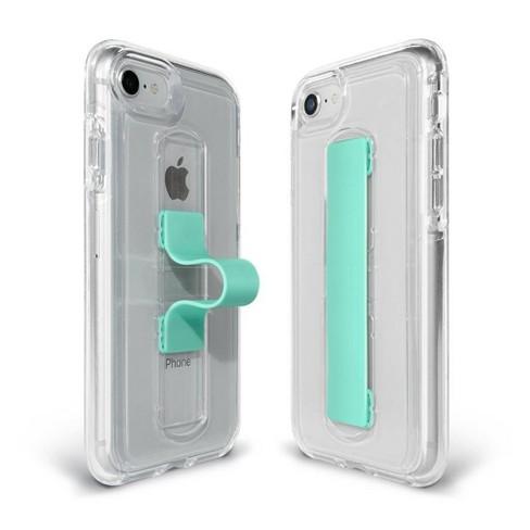 online retailer 44ca2 d6a9f BodyGuardz Apple iPhone 8/7/6s/6 SlideVue Case - Clear/Mint