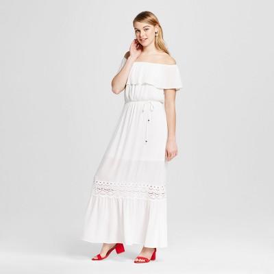 b844d867611 Womens Off the Shoulder Maxi Dress – Xhilaration™ (Juniors) Natural ...