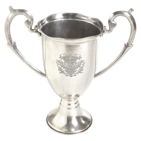 Nickel Etched Trophy with Handles - Go Home - image 1 of 1