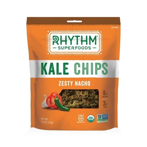 Rhythm Organic Vegan Superfoods Zesty Nacho Kale Chips - 2oz - image 1 of 1