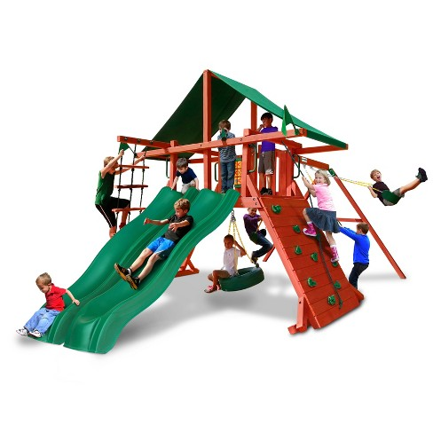 Gorilla Playsets Sun Valley Extreme Swing Set - image 1 of 3