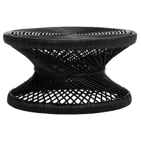 Grimson Large Bowed Coffee Table - Safavieh® - image 1 of 4