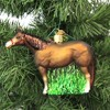 """Old World Christmas 3.75"""" Quarter Horse Ornament Rodeo Pet  -  Ornament Sets - image 3 of 3"""