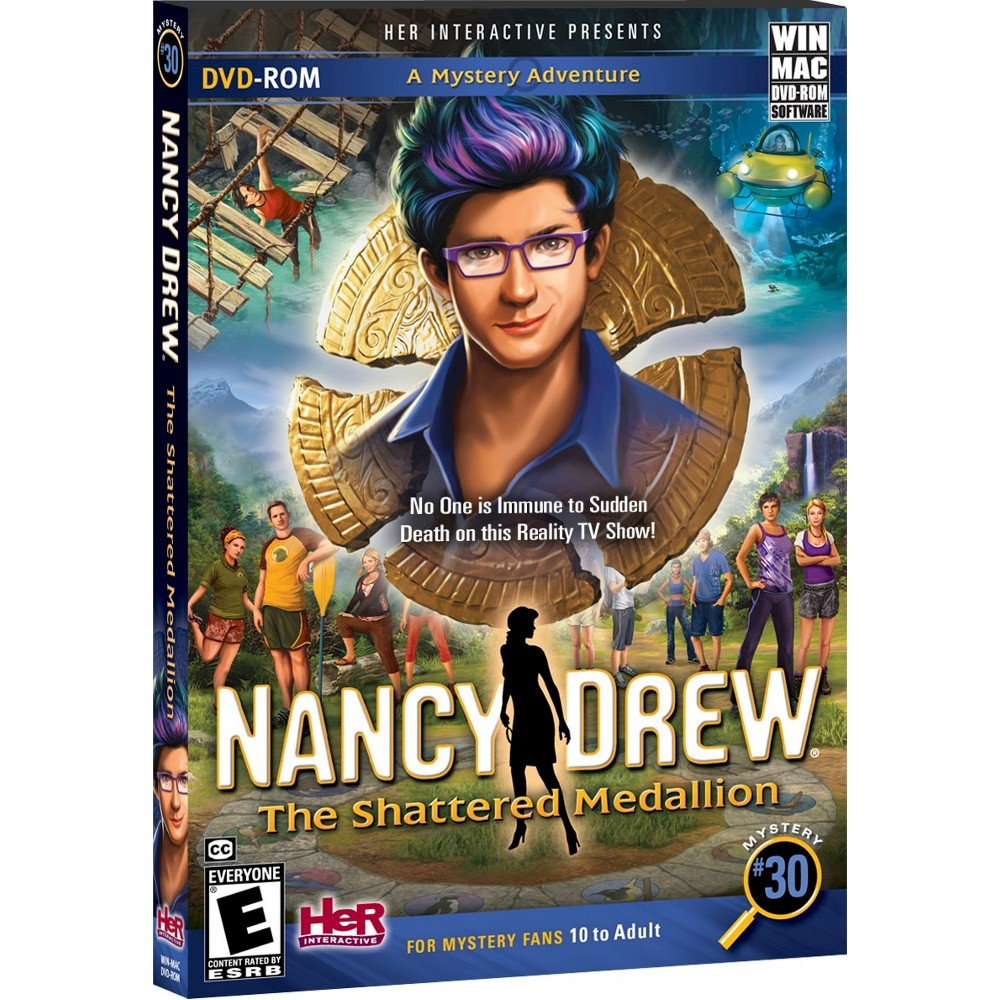 Nancy Drew: The Shattered Medallion PC Game