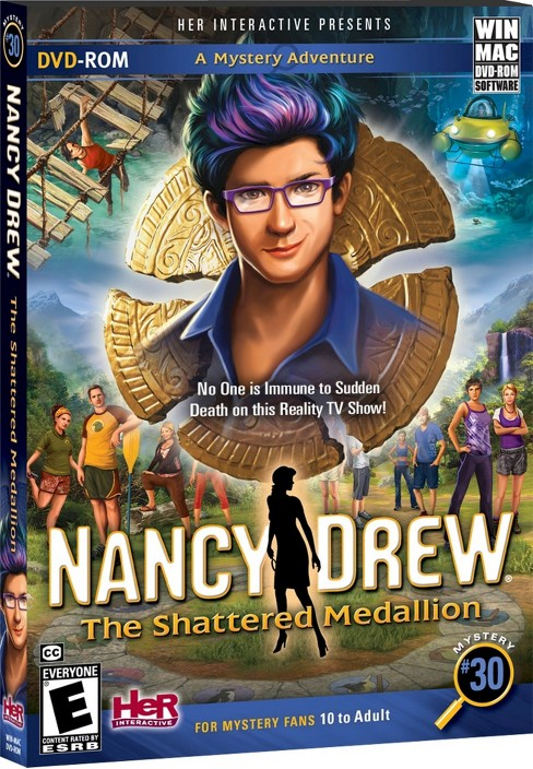 Nancy Drew: The Shattered Medallion PC Game - image 1 of 1