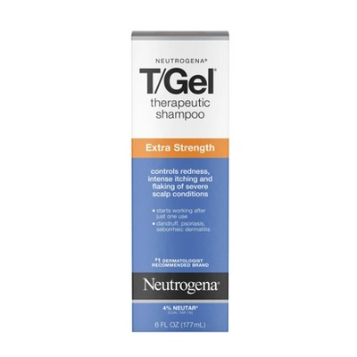 Neutrogena T/Gel Extra Strength Therapeutic Shampoo - 6 fl oz