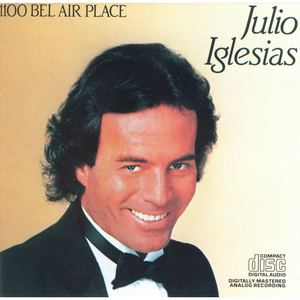 Julio Iglesias - 1100 Bel Air Place (CD)