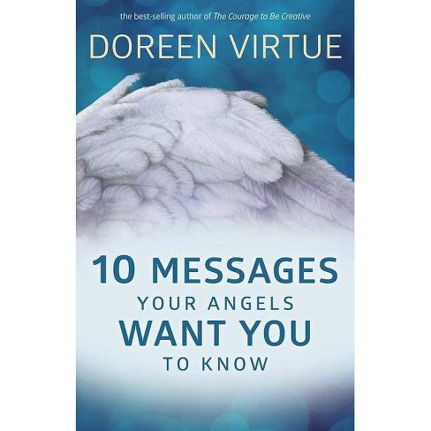 10 Messages Your Angels Want You to Know - by  Doreen Virtue (Hardcover) - image 1 of 1