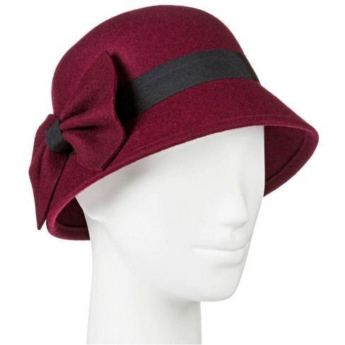 Cloche Hats - Berry Red - Merona™ - image 1 of 1