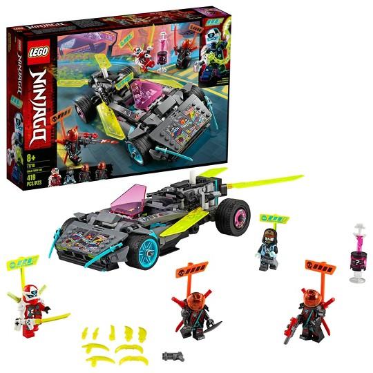 LEGO NINJAGO Ninja Tuner Car Toy Car Building Set 71710 image number null