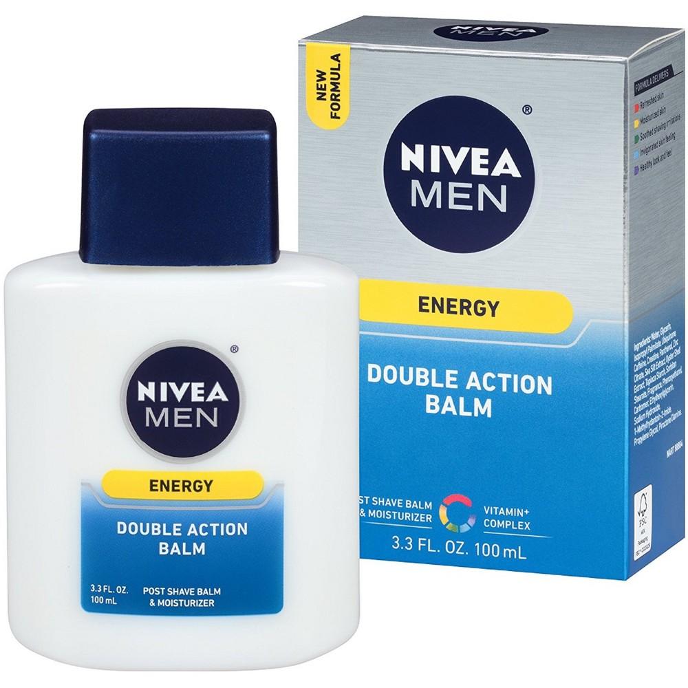 Nivea Revitalizing Double Action Balm for Men - 3.3 oz