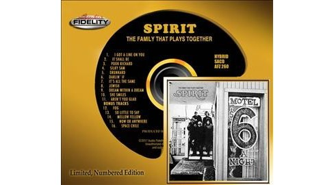 Spirit - Family That Plays Together (CD) - image 1 of 1