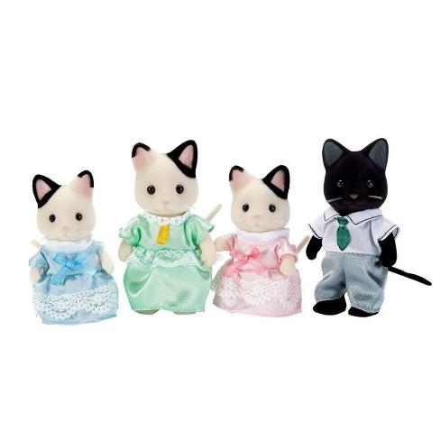 Calico Critters Tuxedo Cat Family - image 1 of 3