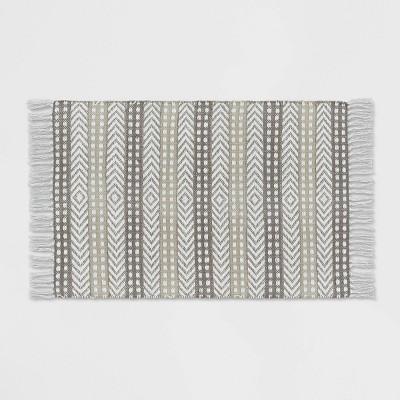 2'x3' Stripe Accent Rug Cream - Opalhouse™