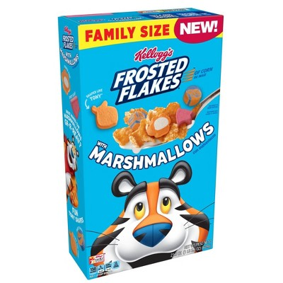 Kellogg's Frosted Flakes Marshmallow Cereal Family Size - 21.5oz