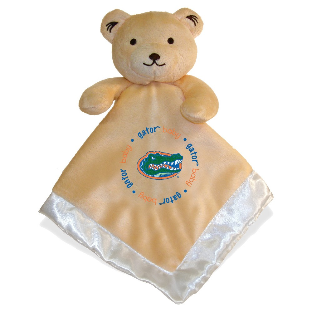 NCAA Florida Gators Small Security Blanket Bear - White, Beige