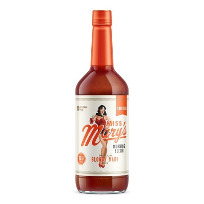 Miss Mary's Original Bloody Mary Mix - 32 fl oz Bottle