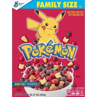Pokemon Cereal Family Size - 17oz - General Mills