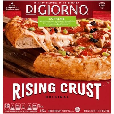 DiGiorno Rising Crust Supreme Frozen Pizza - 31.5oz