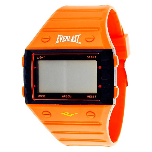 Everlast® Digital Watch Orange - image 1 of 1
