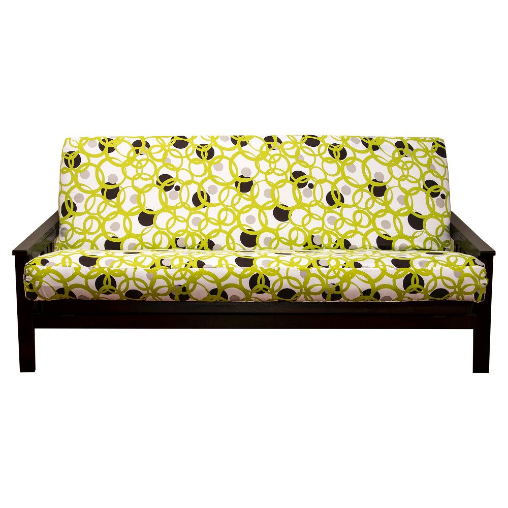 Image of Circle Full Futon Cover Green - Siscovers